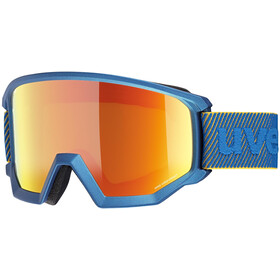 UVEX Athletic CV Goggles, underwater mat/mirror orange